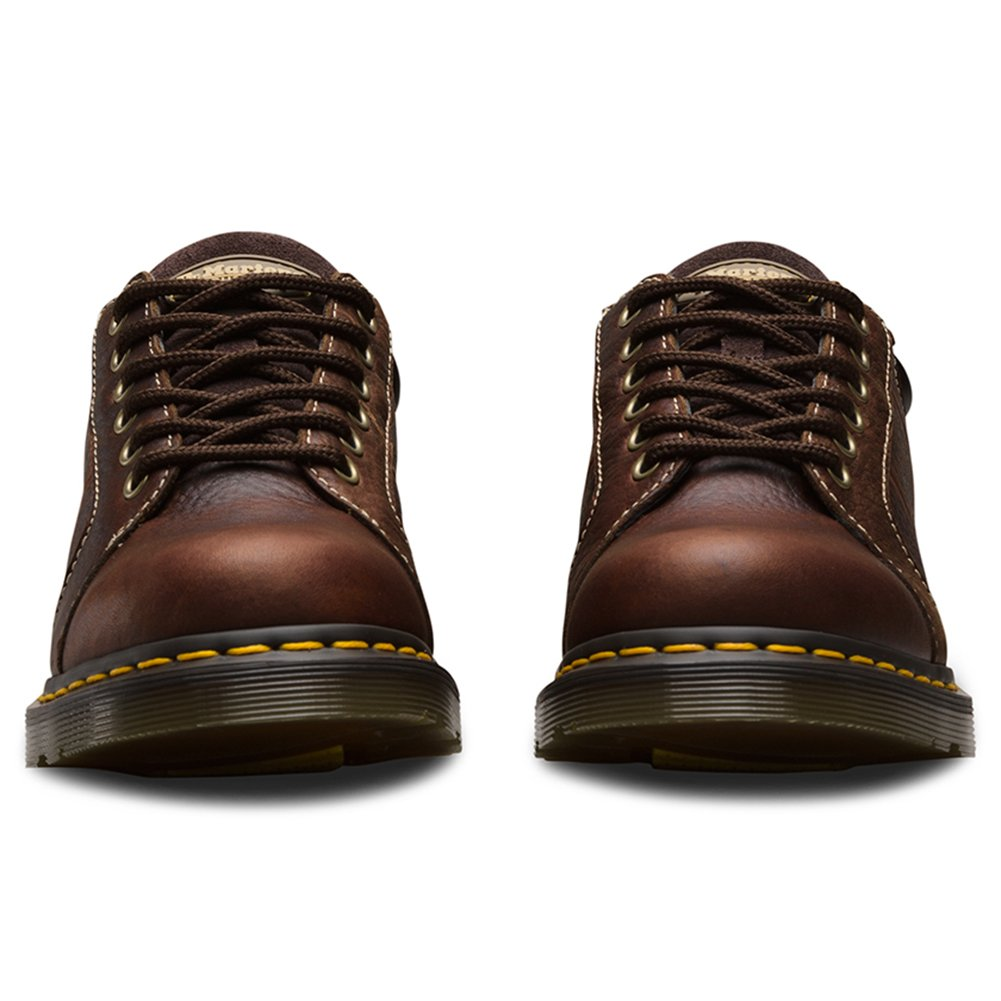 Dr. Martens Women's Mila NS 6 Eye Work Oxfords, Brown, Leather, 5 M UK, 7 M US by Dr. Martens (Image #3)
