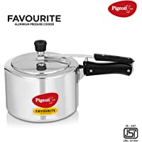 Pigeon Favourite Aluminum Induction Base Pressure Cooker with Inner Lid