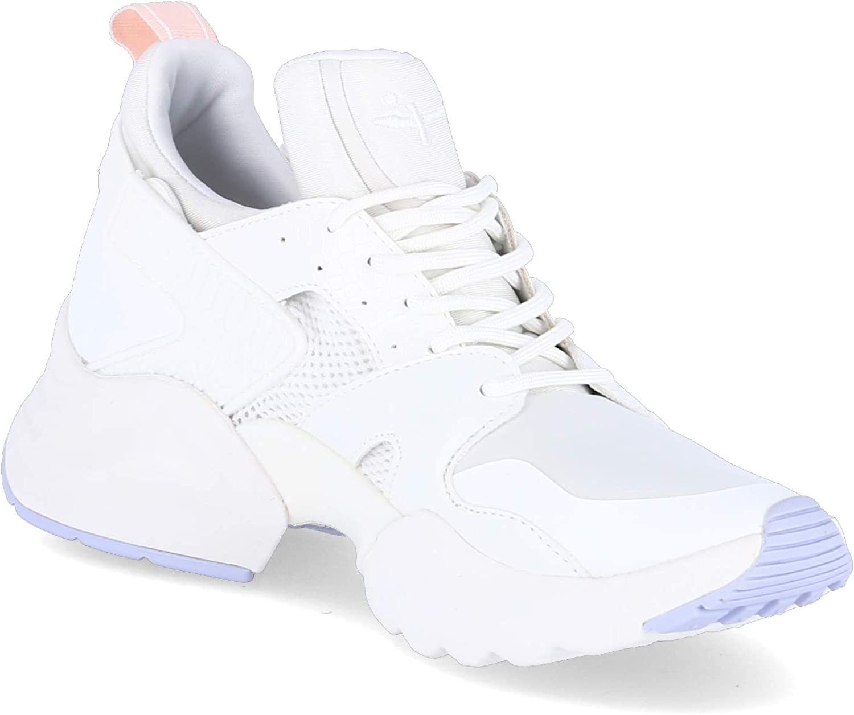 Tamaris Donna Sneaker 1-1-23705-22, Signora Scarpe con Lacci,Scarpe Stringate Bianco