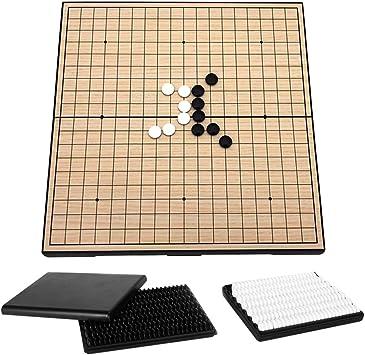 Explopur Go Set - Go Game Set Travel Go Juego de Mesa Juego de ...