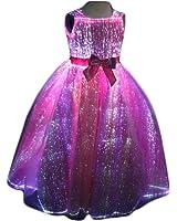 Glow in the Dark Dresses Light up Prom Dresses Fiber Optic