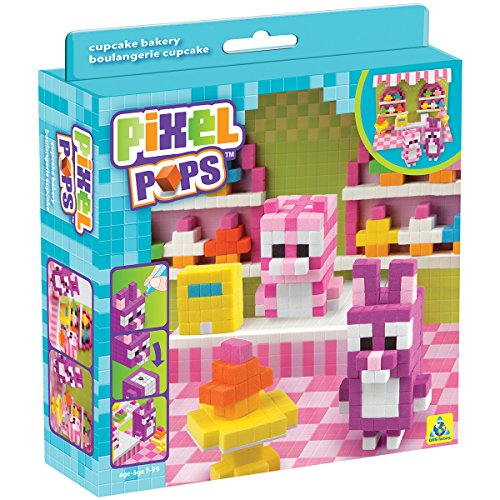 Pixel Pops Scene Kits-Cupcake Bakery (Sweet Charm Pet)