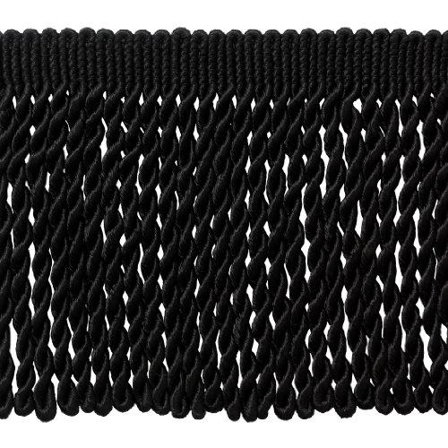 Long Black Lace Trim - 5