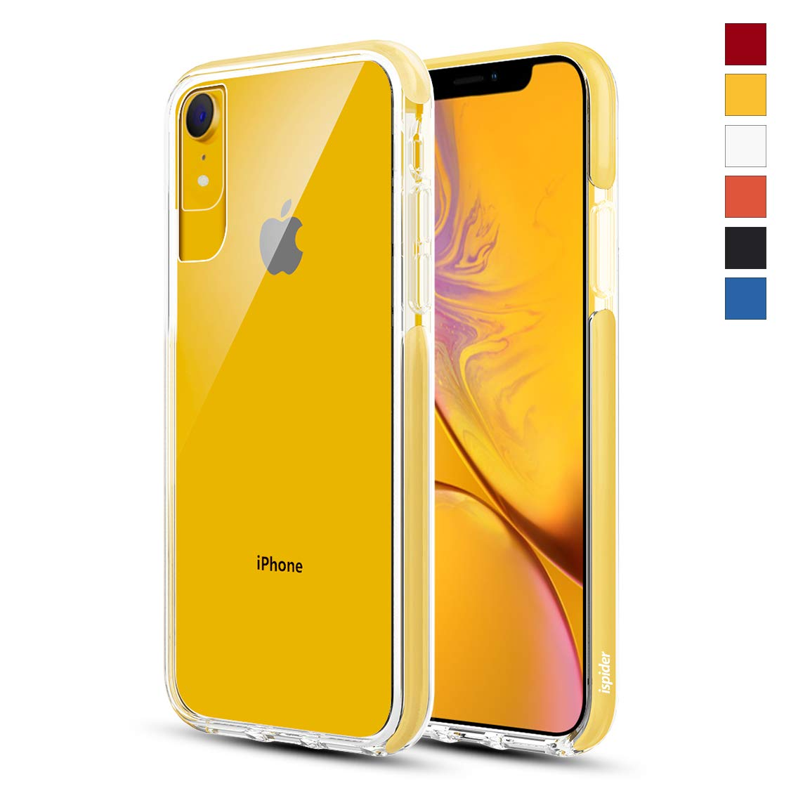 half off 9652b 6253d Details about Ispider Crystal Clear Case Designed for iPhone XR, [3-Meter  Anti-Fall]...