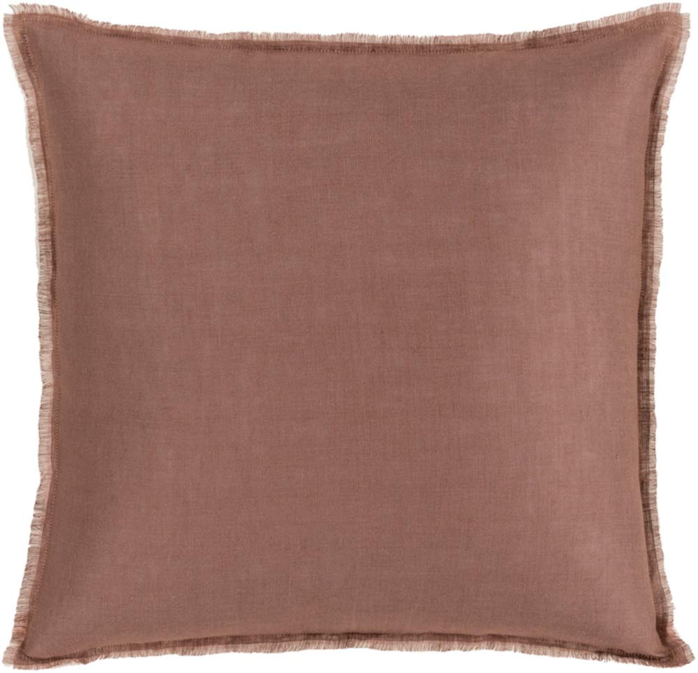 Solid & Border Pillow Cover Only Square 18'' x 18'' WL-066926-S