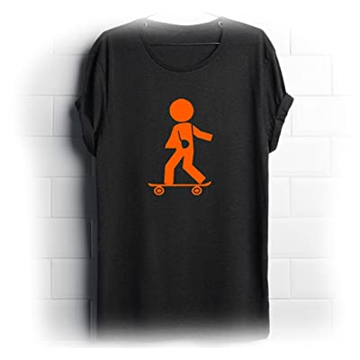 "'Axl Orange T-shirt ""stiggman Taille XL"