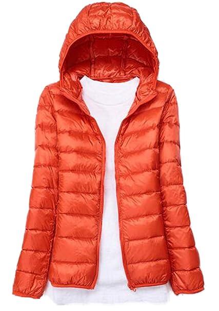 WenHong Womens Outwear Down Coat Lightweight Packable Powder Pillow Down Jackets