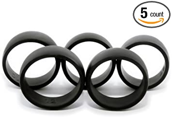 5 silicone wedding rings mens sizes 89101112 - Hypoallergenic Wedding Rings