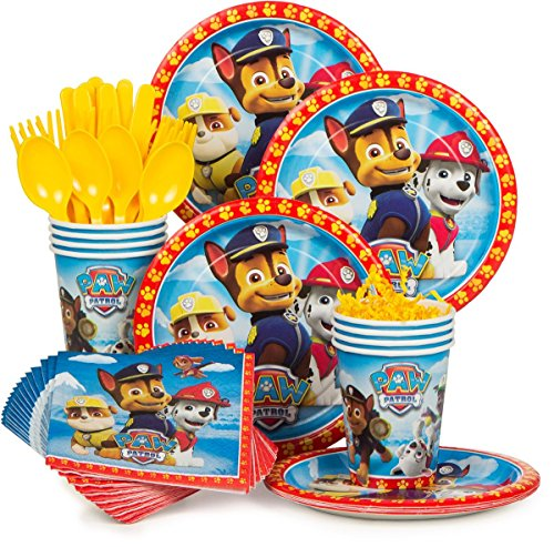 Learn More About Paw Patrol Party Supply Standard Kit (Serves 8)