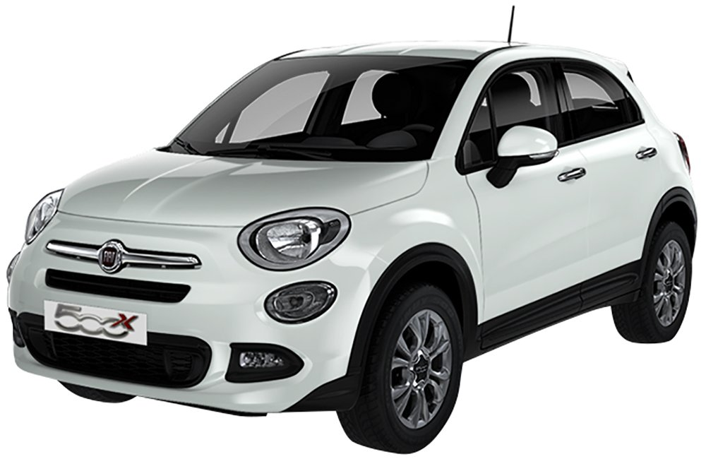 Fiat 500X 1.3 MJet  Pop Star, Rossa - noleggio a lungo termine Be-Free Plus - Welcome Kit FCA MOPAR