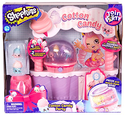 Shopkins Join the Party Playset - Cotton Candy Party by Shopkins