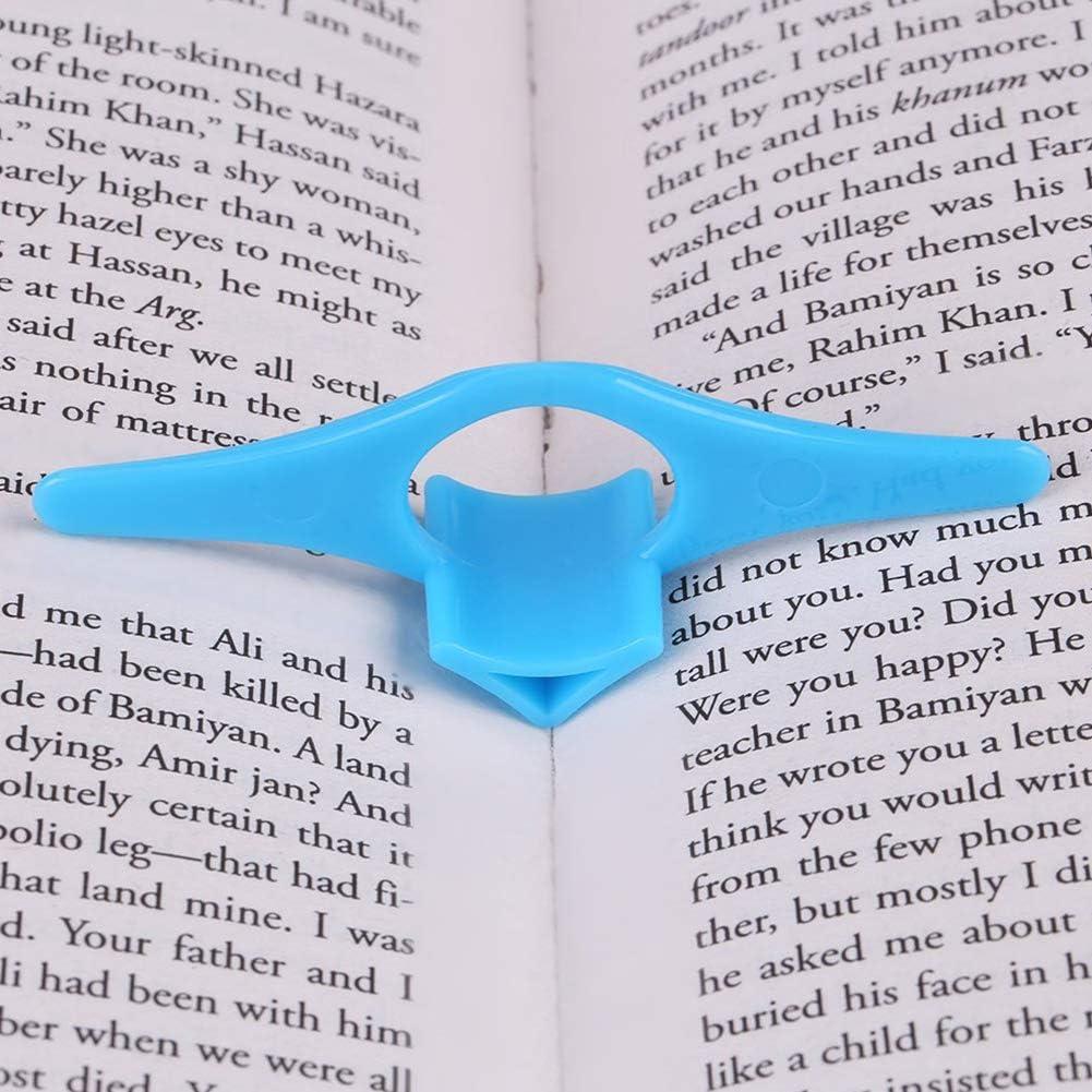 Book Marker,BETOY 20 St/ück Finger Ring Book Marker Daumen Lesezeichen Multifunktions Universal Thumb Page Holder Fingerringbuch Daumenbuch-Seitenhalter f/ür B/ücher Schreibwaren Geschenke blau
