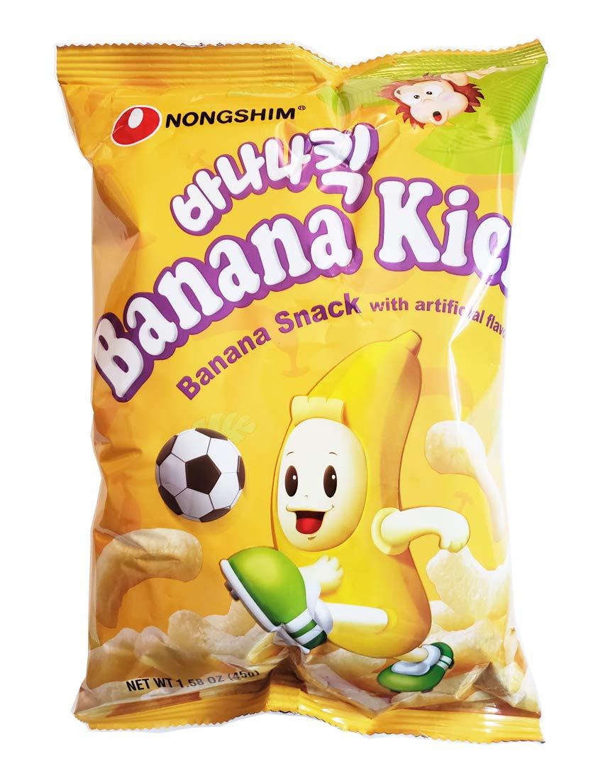 Nongshim Banana Kick, 1.58 oz (Pack of 4)