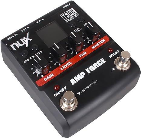 NUX Amp fuerza modelado amplificador simulador guitarra eléctrica ...
