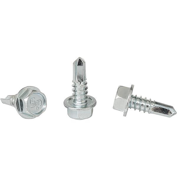 "Hex Bolts Tap Stainless Steel Full Thread 1//4/""-20 x 3-1//2/"" Qty 400 Bulk Box"