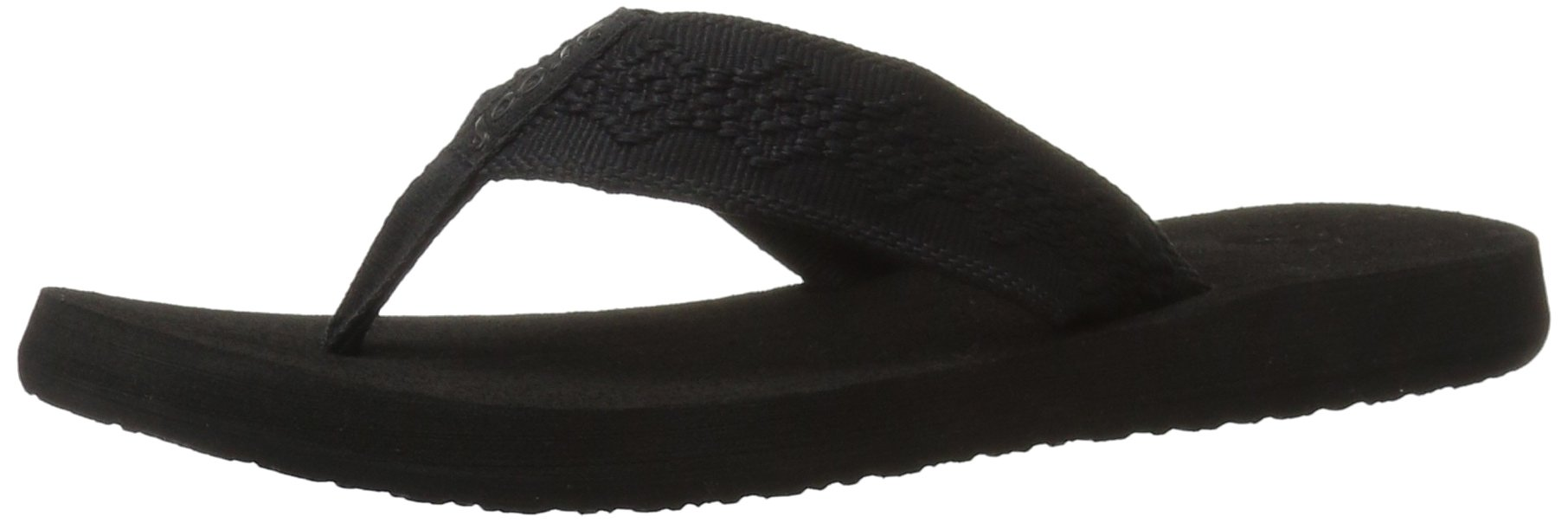 Reef Women's Sandy Sandal,Black/Black,7 M