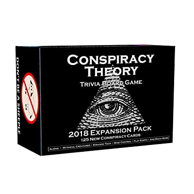 Conspiracy Theory Trivia Board Game Expansion Pack: Toys & Games [5Bkhe0510809]