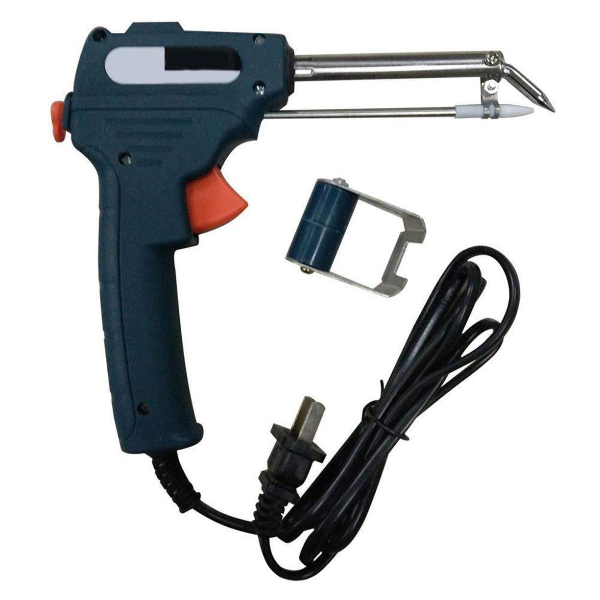 220V 60W Manual Soldering Gun Electric Gun Type Iron Automatic Soldering Machine Automatically Send Tin Fast Heating