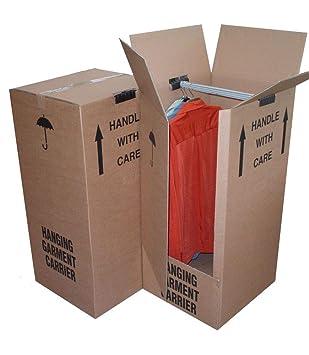 Cajas de cartón para armario, caja de almacenamiento, caja organizadora de embalaje, marrón