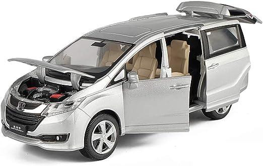 HURONG168 Coches Vehículos Juguetes 正 versión del modelo de coche de aleación Odyssey SUV simulación |