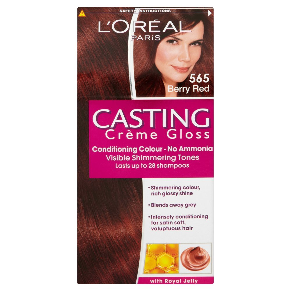 Loreal Paris Casting Creme Gloss Hair Colourant 565 Berry Red