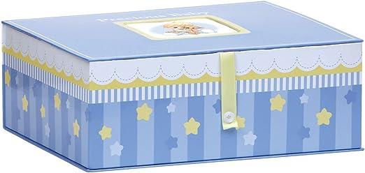 Precious Moments, Precioso bebé, Caja de almacenaje, Boy, 143418: Amazon.es: Hogar
