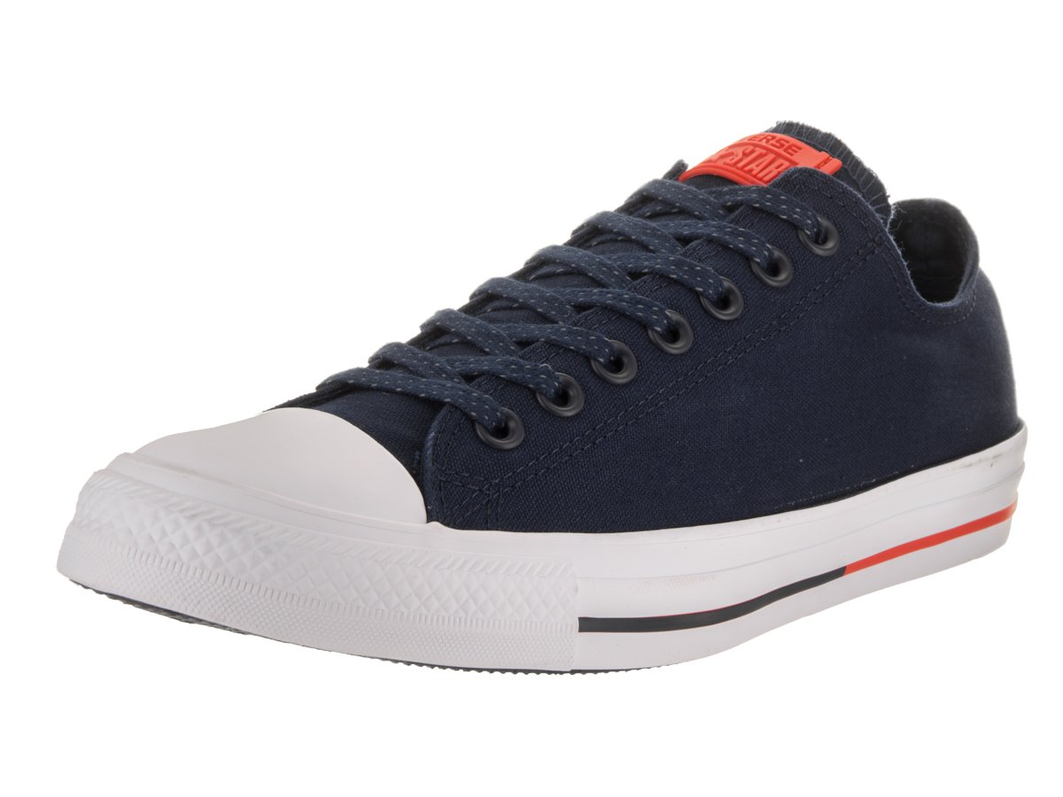 Converse Chuck Taylor All Star Seasonal Colors Ox B0195LNWQ8 8.5 D(M)|Obsidian/White/Signal Red