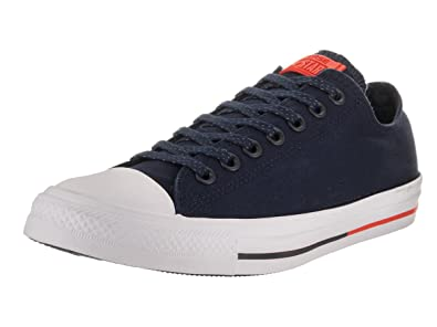 f8de046a9707f Converse Unisex Chuck Taylor All Star Low Top Obsidian White Signal Red  Sneakers -
