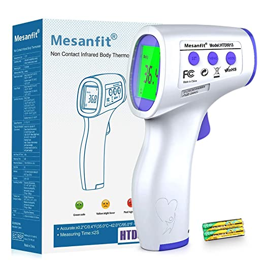 Non Contact Infrared Digital Forehead Thermometer Baby Adult Temperature Gun CP