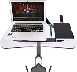 Lifesmells Peloton Laptop Tray ,Peloton Spin Bike Tray,Desk Tray Merging Work with Exercise,Plus Size