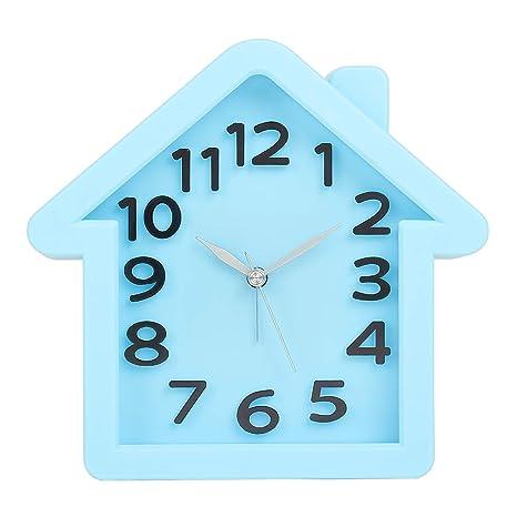 c1ff0c0d7 Buy Tuelip Analog Cute House Shape Table Clock
