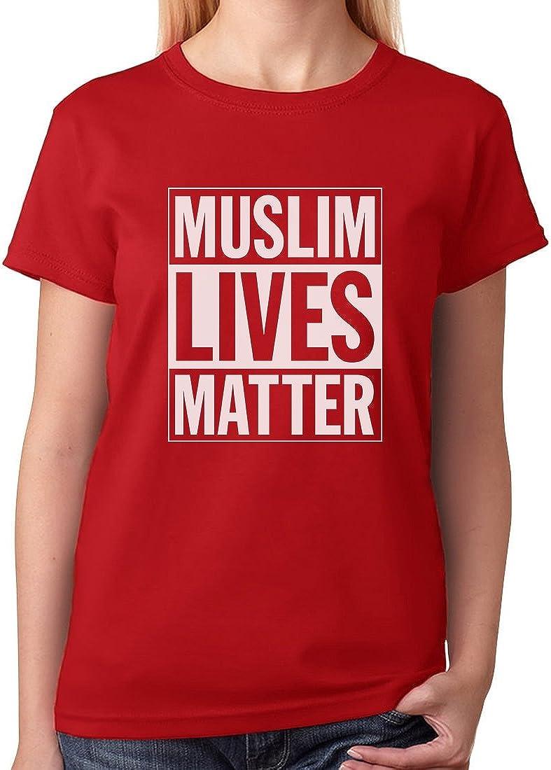 Tstars - Muslim Lives Matter Anti Trump Protest Women T-Shirt