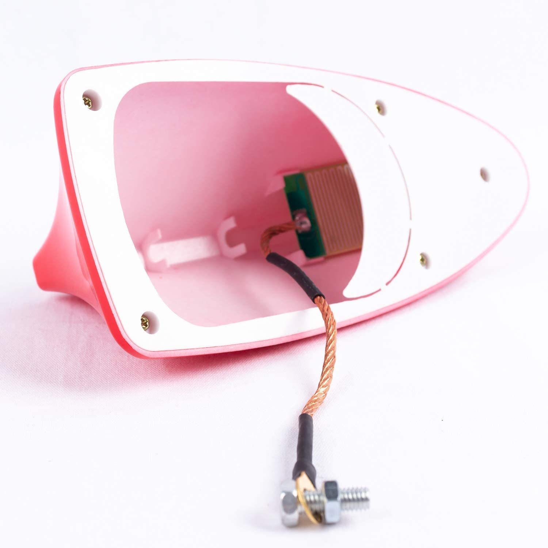 SFONIA Antennes Aileron de Requin pour Voiture Antenne Toit Requin avec Signal /Étanche Universel pour SUV//Camion//Auto