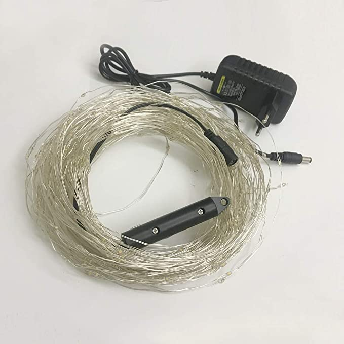 Cadena de Luces 300 Leds Vines Luces de cobre cable de cobre luces ...