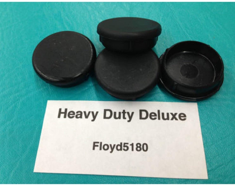 USA Premium Store 4 Heavy Duty Chair Glides Floor Saver Wrought Iron 1.25 Leg Insert Cup 1 1/4''