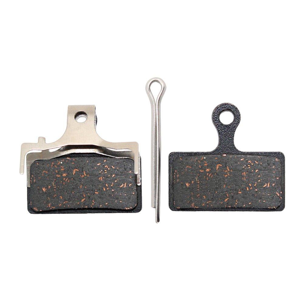 2 Paar Fahrrad Scheibenbremsbeläge für Shimano M785//M615//Deore XT// XTR Schwarz