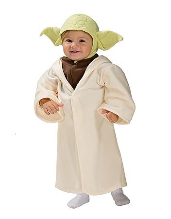 Star Wars Costume, Kids Yoda Costume, Toddler, 1 - 2 years: Star ...