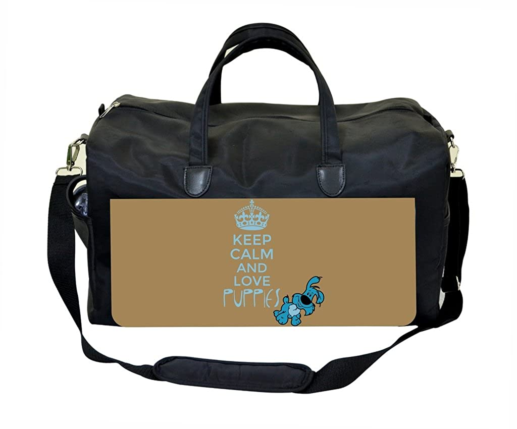 Keep Calm And Love Puppies Therapist Bag