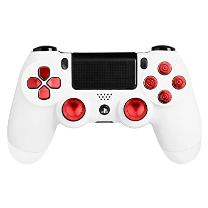l1 R1+l2 R2 Button For Ps4 Wireless Controller Parts Moderate Price Full Buttons Kit Thumbsticks D-pad