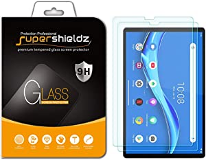 (2 Pack) Supershieldz for Lenovo Tab M10 FHD Plus (2nd Gen) 10.3 inch Screen Protector, (Tempered Glass) Anti Scratch, Bubble Free