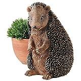 Design Toscano Halsey the Hedgehog Garden Statue, 11 Inch, Polyresin, Full Color For Sale