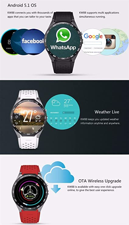 Amazon.com: Zjsb Bluetooth Smart Watch Health & Fitness ...