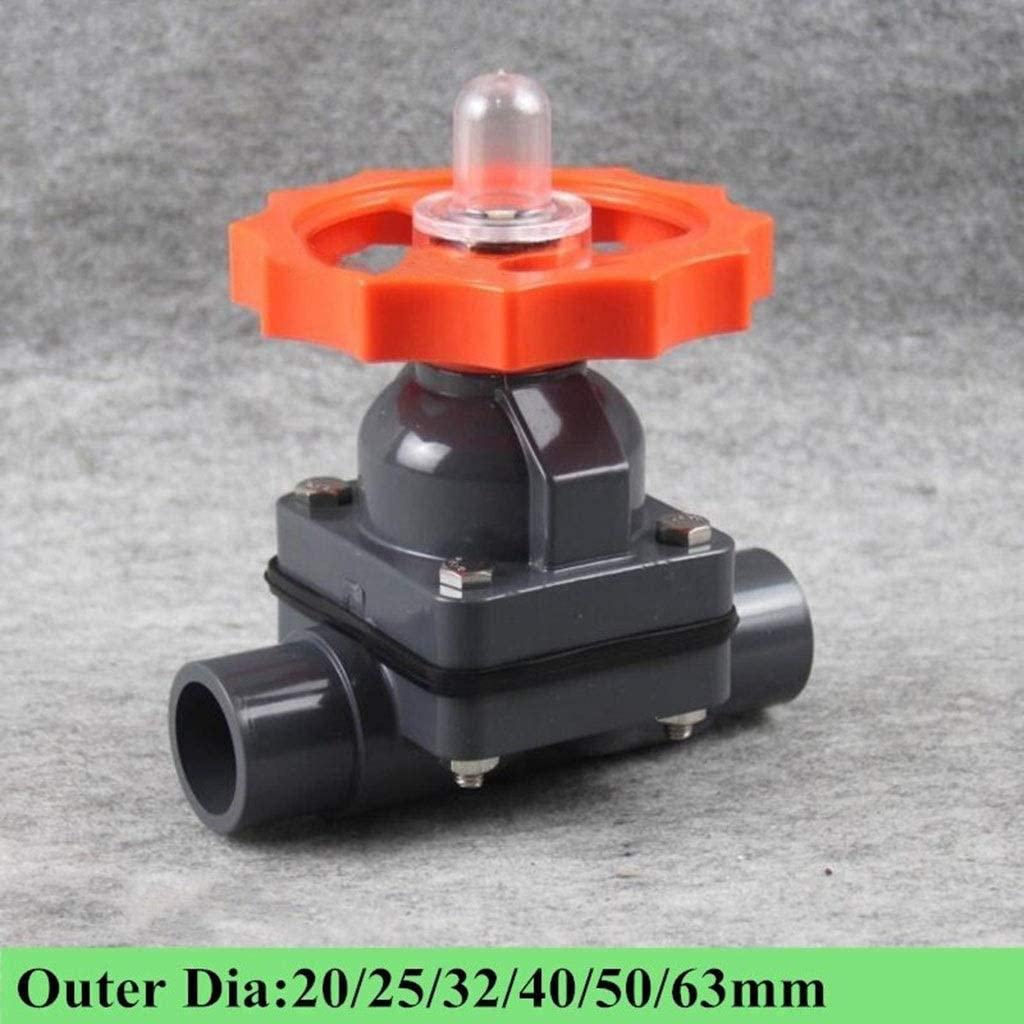 PVC U Compact Ball Valve Threaded Connection 20// 25// 32// 40// 50// 63mm New