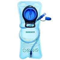 Tragbare 2 Liter Trinkblase,Wasserblase, RANIACO Sport Wasser Blasen für den Außenbereich