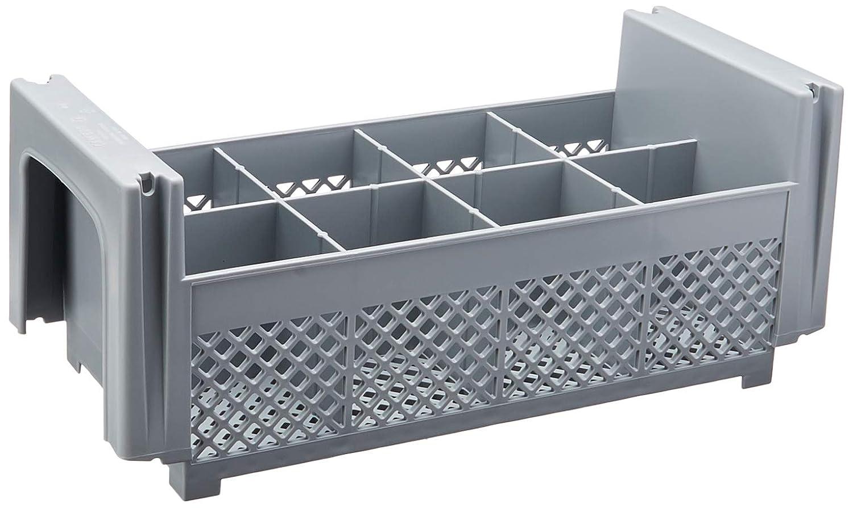 キャンブロ8 fbnh434151 8-compartment Flatwareラック、グレー、1 / 2サイズ 1-(Pack) 8FBNH434-1 1 1-(Pack)  B00I48S71O