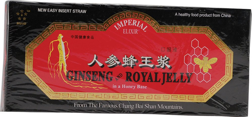 Ginseng y jalea real, 10 oz botellas, 0.34 fl (10 ml) Cada - Imperial Elixir: Amazon.es: Salud y cuidado personal