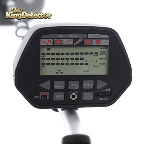 kingdetector fácil con metro Hobby md-3020ii detectores de metales Detección: Amazon.es: Jardín