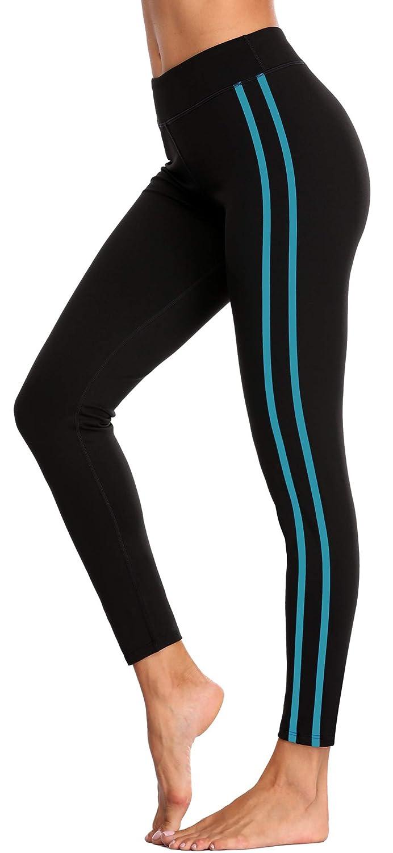 Aqua belamo Women's Compression Yoga Pants Tummy Control Leggings Workout Running Pants