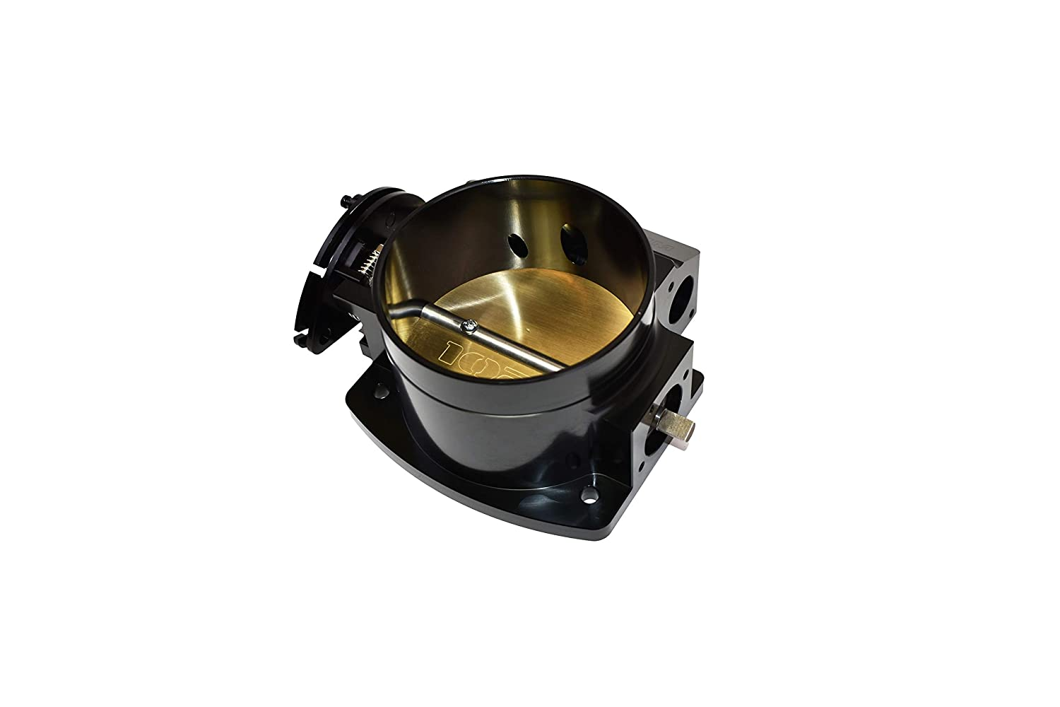 A-Team Performance 4-Bolt Throttle Body Drive By Cable Compatible with Chevy Chevrolet GM LS LS1 LS3 LS6 LSX Black 102mm