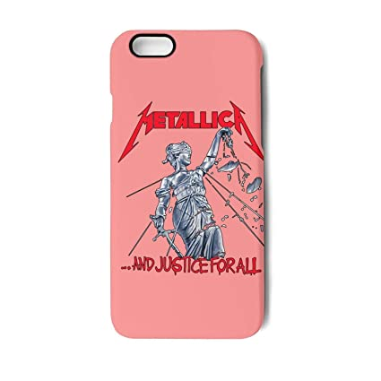new product 8af9b cef3e Amazon.com: Best iPhone 6/6s Phone case Metallica-and-Justice-for ...